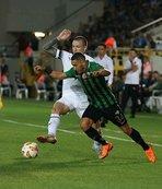 Akhisarspor, ilk Avrupa maçına çıktı