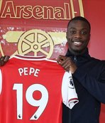 Nicolas Pepe joins Arsenal