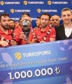 Ampute Futbol Milli Takımı'na büyük ödül