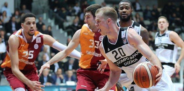 Olaylı derbide Beşiktaş güldü