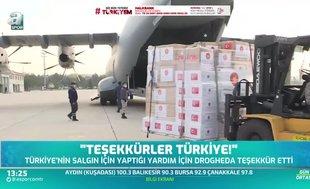 Drogheda'dan Türkiye'ye teşekkür mesajı