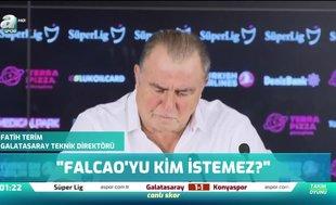 Fatih Terim'den Falcao açıklaması