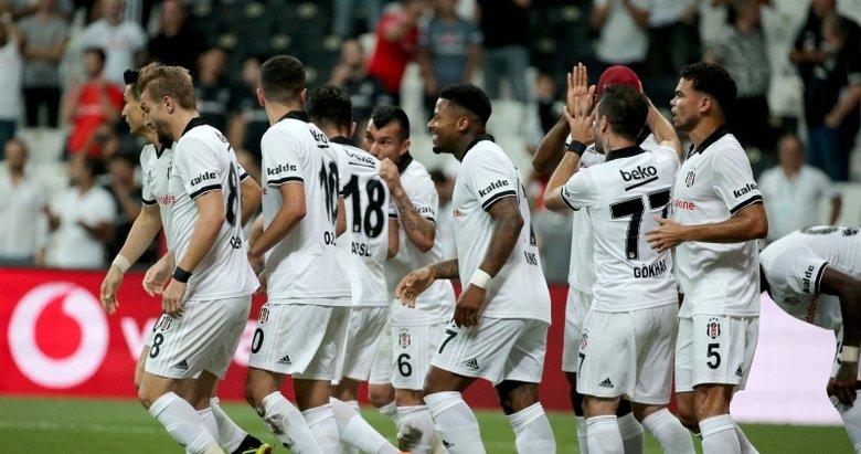Kartal 3'te 3 yaptı! Beşiktaş 1-0 Lask Linz maç sonucu