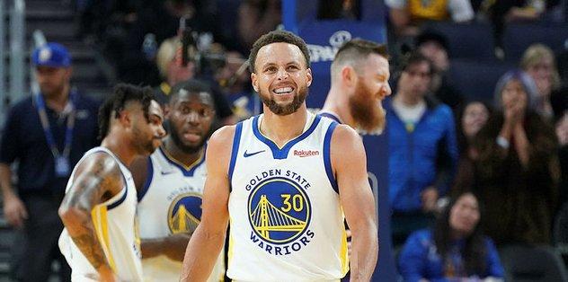 Golden State Warriors'ta Stephen Curry 3 ay yok