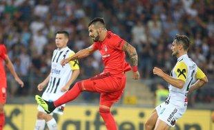 Alvaro Negredo'nun Lask Linz'e attığı gol