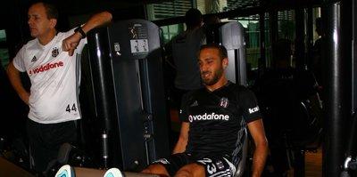Beşiktaş günün ilk antrenmanını yaptı