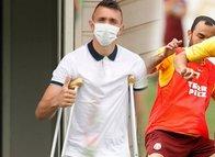 Galatasaray'da Fernando Muslera sürprizi! Antrenman...