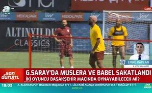 Babel ve Muslera Başakşehir maçında oynayacak mı? İşte cevabı
