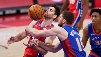 Furkan Korkmaz'lı 76ers Pistons'ı devirdi!