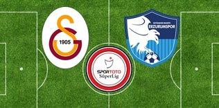 G.Saray ile Erzurumspor ilk kez karşı karşıya