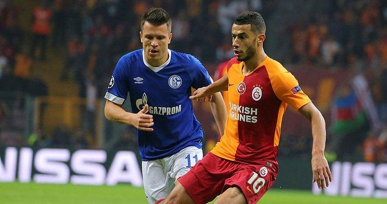 Galatasaray'da Belhanda'ya tükürük!