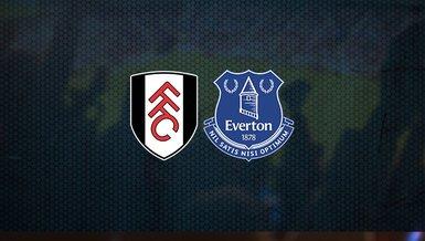 Fulham - Everton maçı ne zaman, saat kaçta ve hangi kanalda canlı yayınlanacak? | İngiltere Premier Lig
