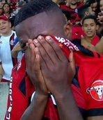 Real Madrid'in yeni transferi hüngür hüngür ağladı