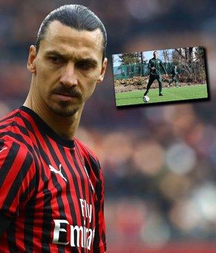 Zlatan Ibrahimovic Hammarby ile antrenmana çıktı