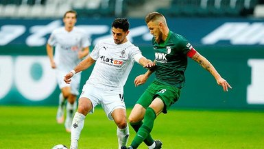 Borussia Mönchengladbach Augsburg: 1-1 (MAÇ SONUCU - ÖZET)