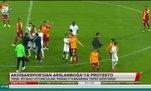 Akhisarspor'dan Arslanboğa'ya protesto