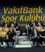 Şampiyon VakıfBank basınla buluştu