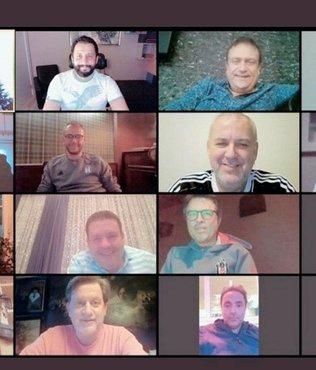 Beşiktaş yönetiminden ilginç toplantı! Video konferans...