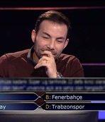 Futbol sorusu Milyoner'e damga vurdu! Bakın hangi cevabı verdi...