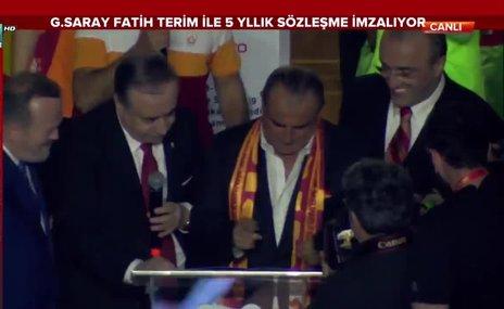 Fatih Terim'den 5 yıllık imza!
