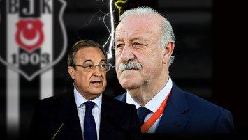 """Del Bosque'ye şok hakaretler! """"Beşiktaş başkanına sor"""""""