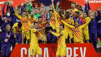 İspanya Kral Kupası Barcelona'nın!