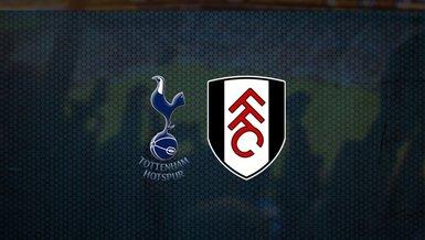 Tottenham - Fulham maçı ne zaman, saat kaçta ve hangi kanalda canlı yayınlanacak? | İngiltere Premier Lig