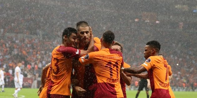 Kasımpaşa karşısında Galatasaray kasırgası!