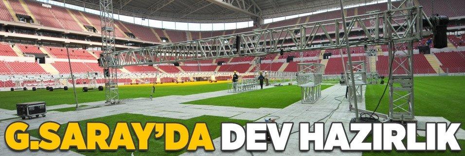 Galatasaray'da dev hazırlık!