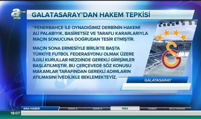 Fenerbahçe - Galatasaray derbisinin yankıları sürüyor