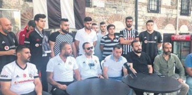 Küfürü bırak Beşiktaş'ı bırakma