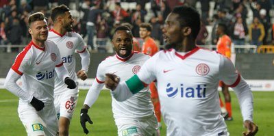 Antalyaspor hasrete son verdi