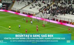Beşiktaş'ta gündem: Mert Yılmaz