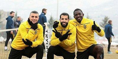 Yeni Malatyaspor Antalyaspor maçının hazırlıklarını sürdürdü