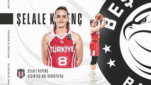 Şelale Kepenç Beşiktaş'ta