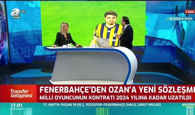 Fenerbahçe Ozan Tufan ile 2024 yılına kadar sözleşme uzattı