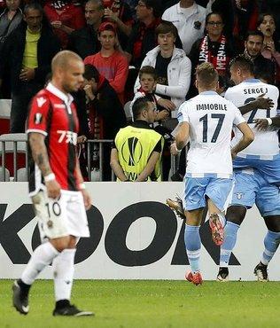 Sneijder'in asisti yetmedi!