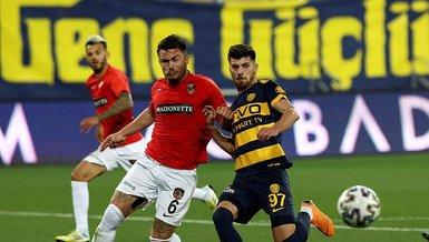 MKE Ankaragücü - Gaziantep FK: 0-1 (MAÇ SONUCU - ÖZET)
