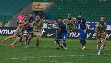 Çaykur Rizespor 1-2 Fenerbahçe | MAÇ SONUCU