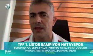 Mehmet Altıparmak: Hedefim milli takımı çalıştırmak