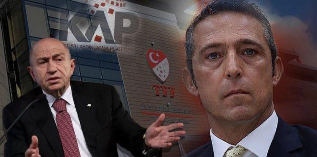 TFF'den Fenerbahçe'ye KAP darbesi! Transfer yasağı ve puan silme...