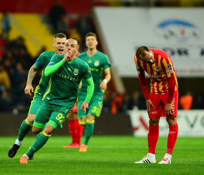 Kayserispor - Fenerbahçe maçında dikkat çeken detaylar