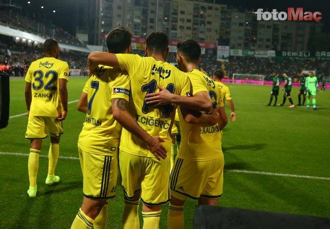 Denizlispor Fenerbahçe maçına damga vuran pozisyon! Kırmızı kart...