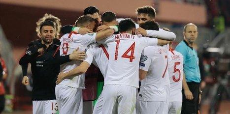 Turkey blanks Albania 2-0 in EURO 2020 Qualifiers