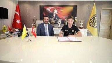 Son dakika: Ankaragücü Torgeir Börven ile 2+1 yıllık sözleşme imzaladı.