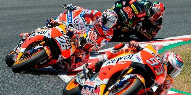 MotoGP'de heyecan Hollanda'da sürecek
