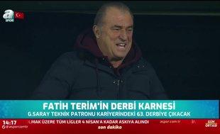 Fatih Terim'in derbi karnesi