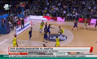 THY Euroleague'de 11. hafta