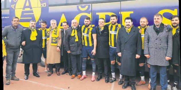 Ağrıspor'a özel otobüs