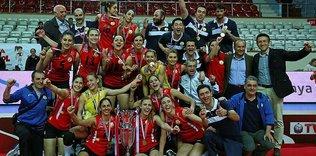 Süper Kupa Vakıfbank'ın